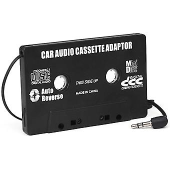 DIGIFLEX Auto Black Kassette Adapter für MP3 iPod Nani CD MD