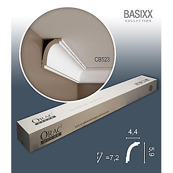 ORAC decor CB523 BASIXX 1 box SET with 10 crown moldings corner strips | 20 m