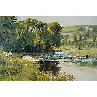 Edward Mitchell Bannister - Streamside Poster Print Giclee