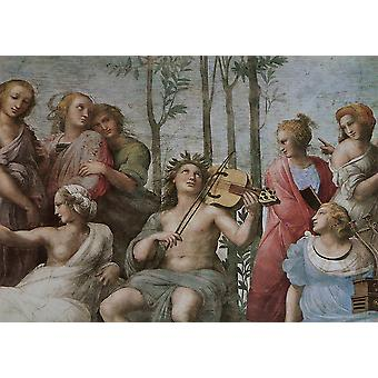 Raphael - Le Parnasse Poster Print Giclee