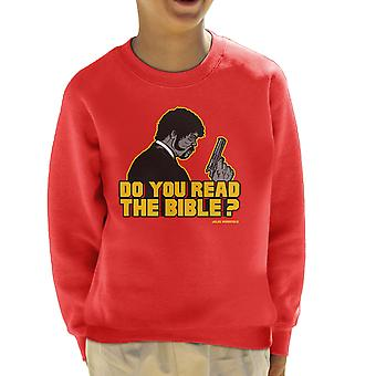 The Shepherd Jules Winnfield Pulp Fiction Kid's Sweatshirt