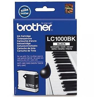 Brother LC-1000BK tonercartridge zwart (500 pagina's)