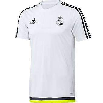 2015-2016 Real Madrid Adidas Training Shirt (weiss) - Kids