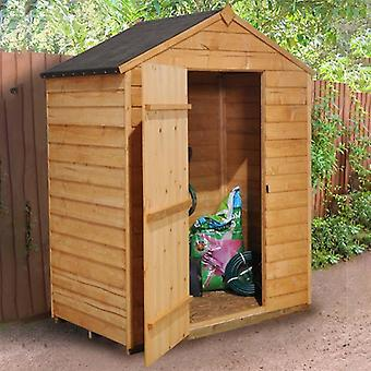 Forest Garden 5 x 3 Overlap Dip Treated Apex Shed