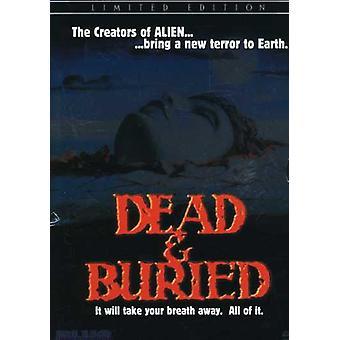 Døde & begravet [DVD] USA importerer