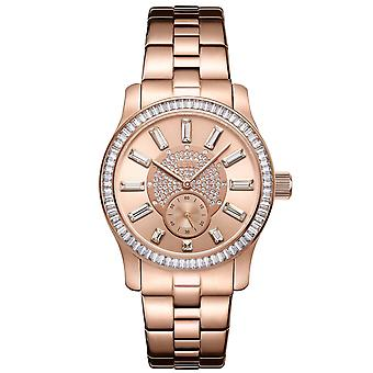 JBW ladies diamond watch with Swarovski crystals rose gold
