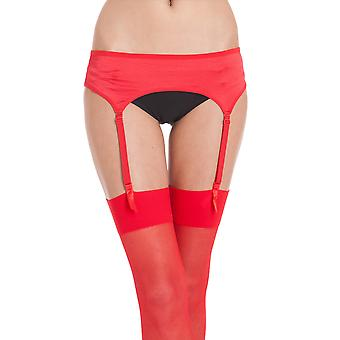 Silky Womens/Ladies Narrow Satin Suspender Belt (1 Pair)