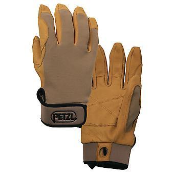 Petzl Cordex climbing glove light brown