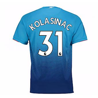 2017-2018 Arsenal Away Shirt (Kolasinac 31)