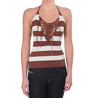 Diesel a maglia a strisce Halter Top
