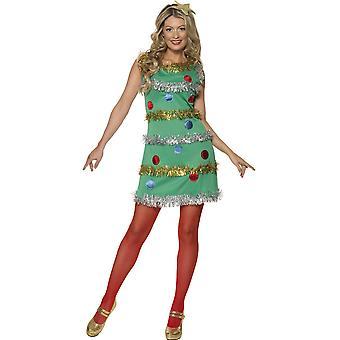 Women costumes Women Christmas tree dress for ladies