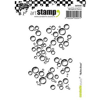 Carabelle Studio Cling Stamp A7-Bubbles Of Water SA70134