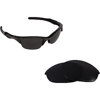 Best SEEK Polarized Replacement Lenses for Oakley HALF JACKET 2.0 Black
