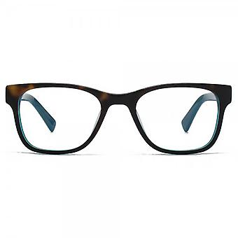 Hook LDN Rhapsody Glasses In Tortoiseshell On Turquoise
