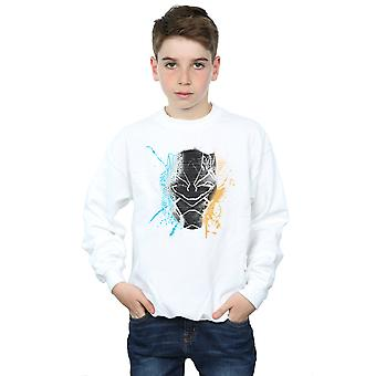 Marvel jongens Sweatshirt Splash Black Panther