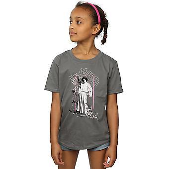 Mädchen Prinzessin Leia in Star Wars Distressed T-Shirt