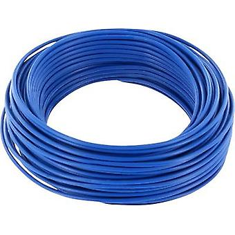 Jumper wire 1 x 0.20 mm² Blue BELI-BECO D 105/10