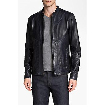 Mens Pisa Leather Jacket