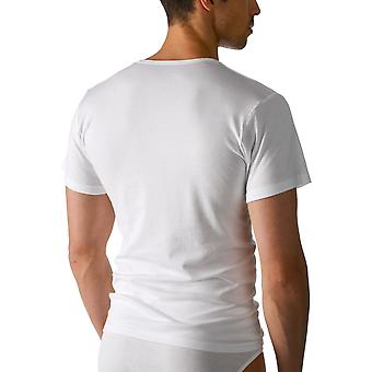 Mey 2806 Men's Noblesse White Pima Cotton Short Sleeve Top