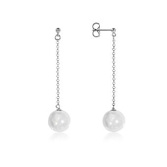 Antica Murrina ladies OR521A01 white steel earrings