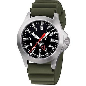KHS horloges mens watch peloton GMT LDR KHS. PGLDR. DOEN