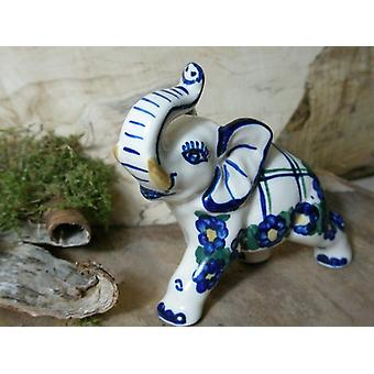Elephant, small, 10 x 4 x 9 cm, unique 50 ceramic crockery cheap - BSN 5731