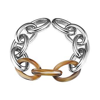 ESPRIT ladies bracelet stainless steel Silver tortoise of big link ESBR11606B210