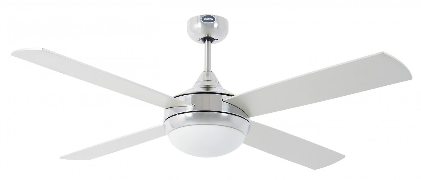 Ventilatore a soffitto in alluminio Icaria 132 cm/52