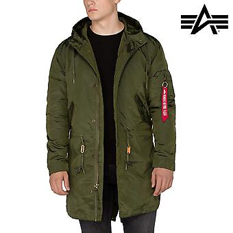 Alpha industries hooded fishtail TT jacket