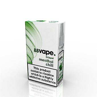88 Vape E-Liquid Nicotine 11mg Menthol Chill 10ML