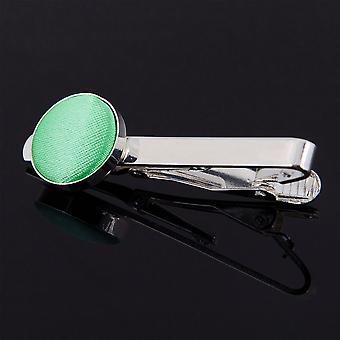 Corbata de menta verde llano