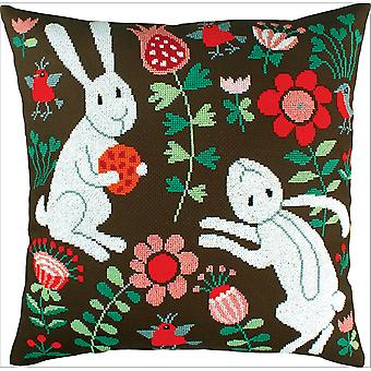 Pillow Fairy Tales Counted Cross Stitch Kit-17.25