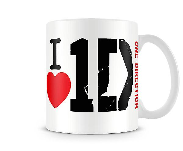J'aime One Direction! Imprimé tasse