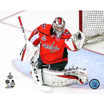 Braden Holtby Game 3 of the 2018 Stanley Cup Finals Photo Print