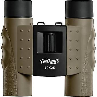 Walther Backpack 10 x 25 Binoculars 10 x 25 mm Earth-coloured (matt)