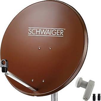 Installation SAT Schwaiger SPI9962SET2 w/o récepteur nombre de participants 2 80 cm