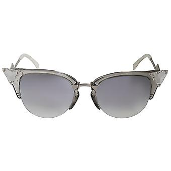 Fendi Iridia Cat Eye Sunglasses FF0041S 27C FU 52