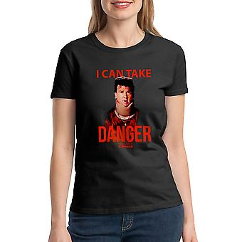 Pineapple Express I Can Take Danger Women's Black T-shirt