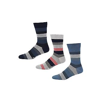 New Designer Mens Pepe Jeans Socks Ashley Gift Set