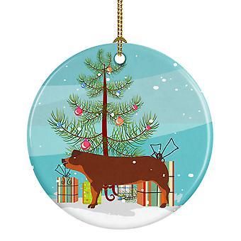 Carolines skatter BB9309CO1 Duroc gris Christmas keramiske Ornament
