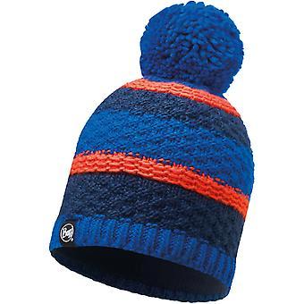 Buff Fizz Knitted Bobble Hat