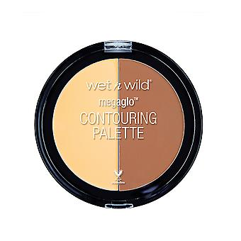 Wet n Wild Mega Glo Contouring Palette Caramel Toffee 13 g