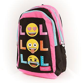 Emoji LOL glitter dots backbag