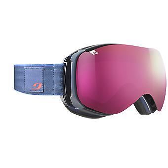 Julbo Ventilate Bleu Sombre Marbre Spectron 3 Rose Flash Rose