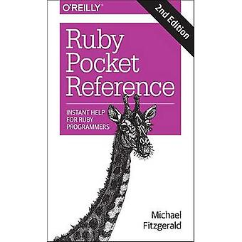 Ruby Pocket Reference by Michael Fitzgerald - 9781491926017 Book