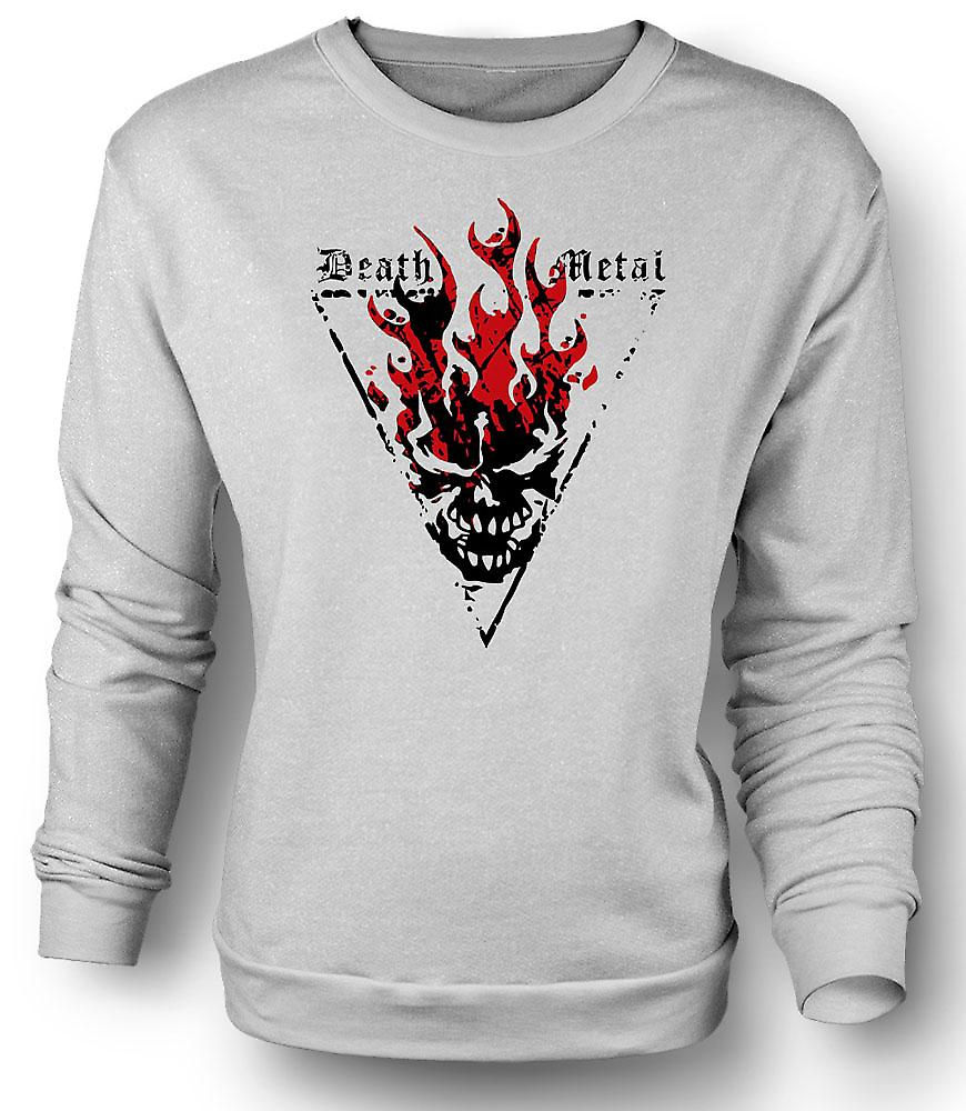 Mens Sweatshirt Death Metal - Thrash Devil Gothic