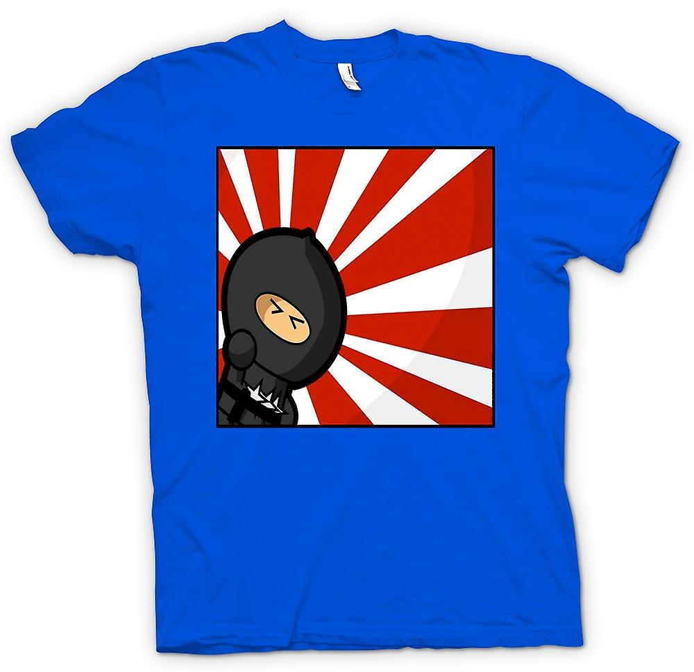 Mens T-shirt - Ninja - Pop Art - lustig