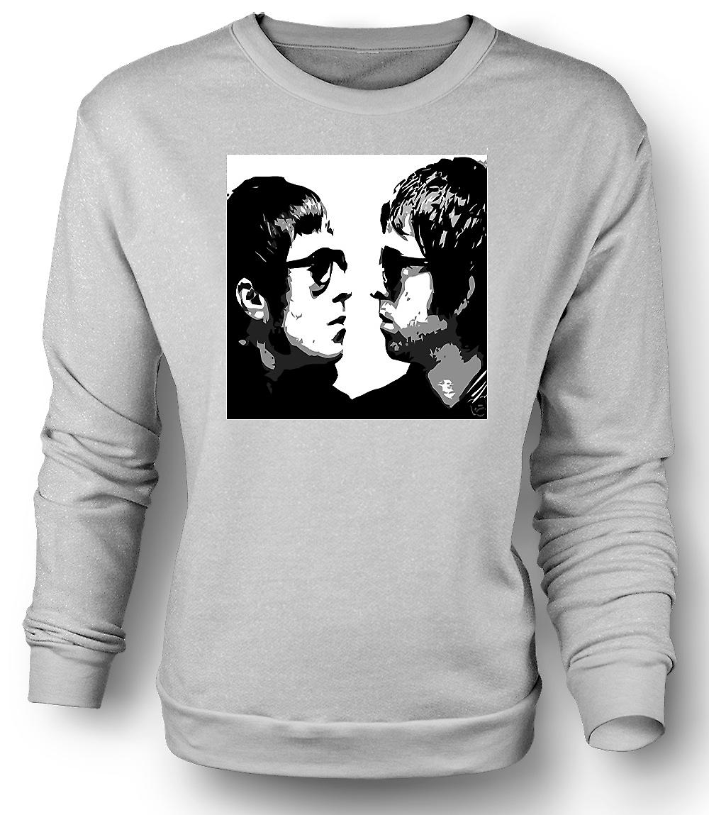 Mens Sweatshirt Liam and Noel - Oasis