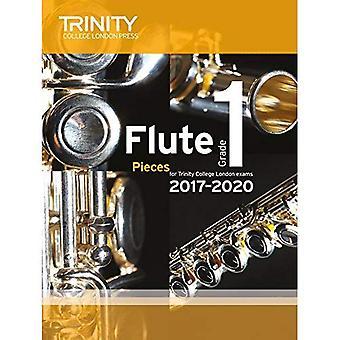 Trinity College London: Flute Exam Pieces Grade 1 2017 to 2020 (score & part)