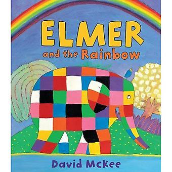 Elmer et l'arc-en-ciel